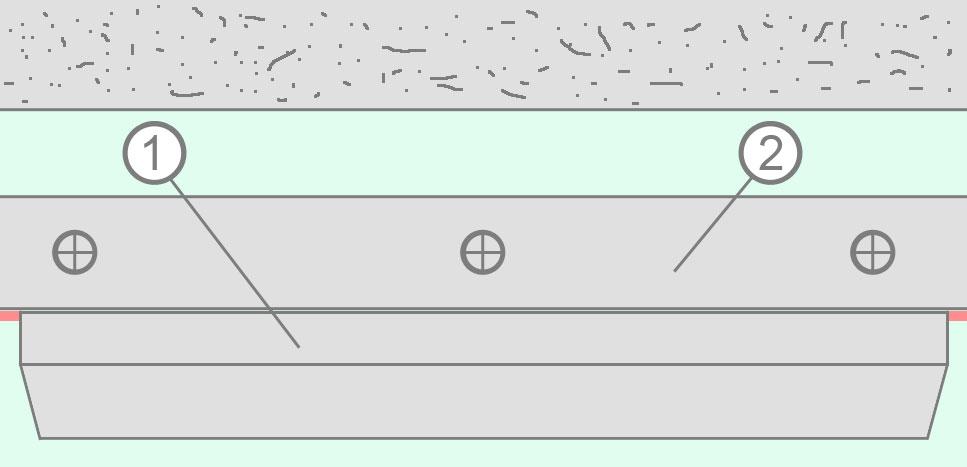 Проверка плоскости направляющего профиля